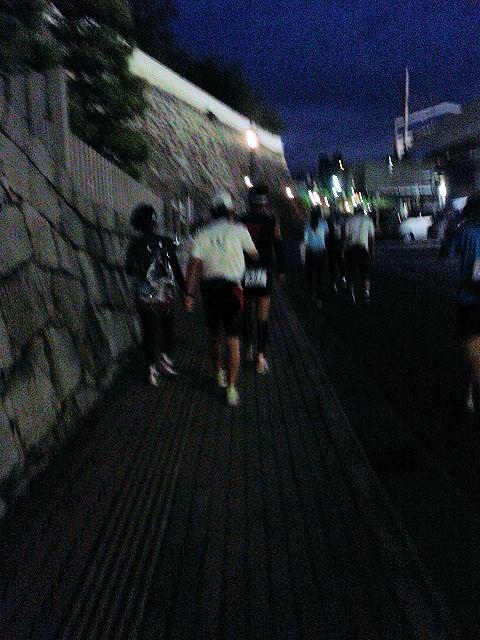 しまなみ海道福山城スタート地点へ