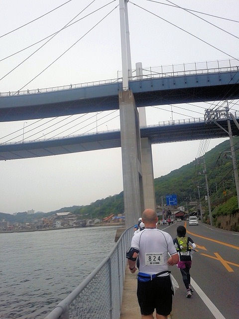 しまなみ海道ウルトラ遠足尾道大橋