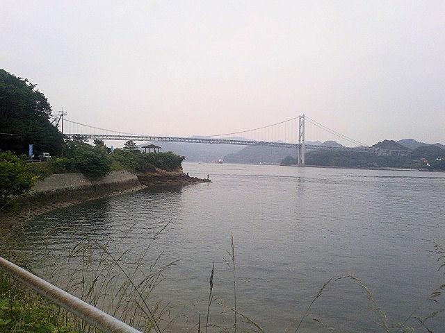 しまなみ海道ウルトラ遠足2つ目の橋