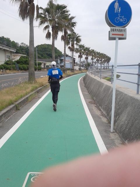 しまなみ海道ウルトラ遠足50Km過ぎ