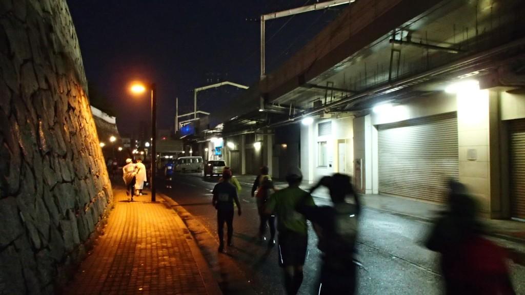 福山駅(しまなみ海道100Kmウルトラ遠足)