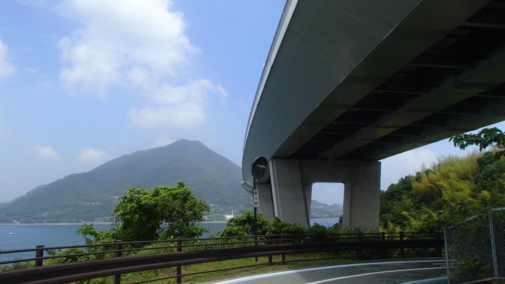 多田羅橋を走り終える