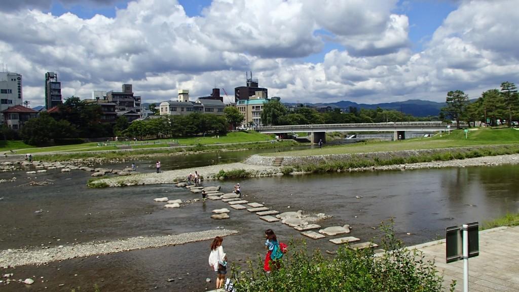 加茂大橋をスタート