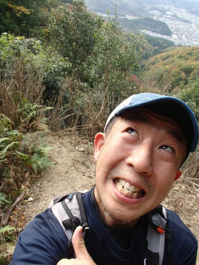 もう直ぐ比叡山ケーブルに到着です