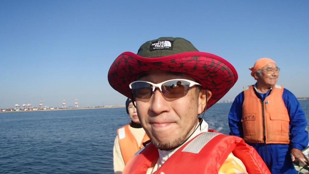 舟にて約1時間30分