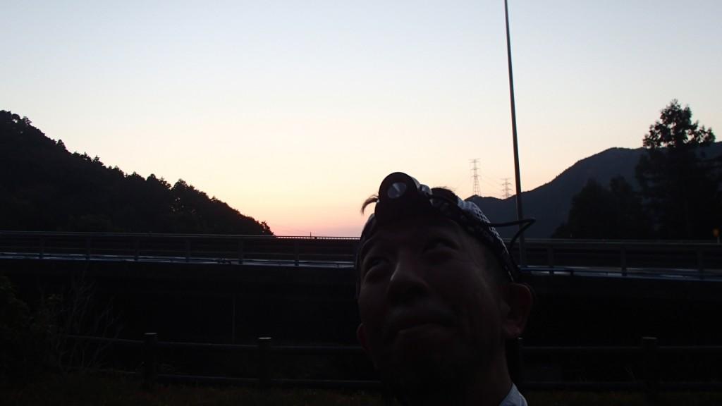 鈴鹿峠の途中
