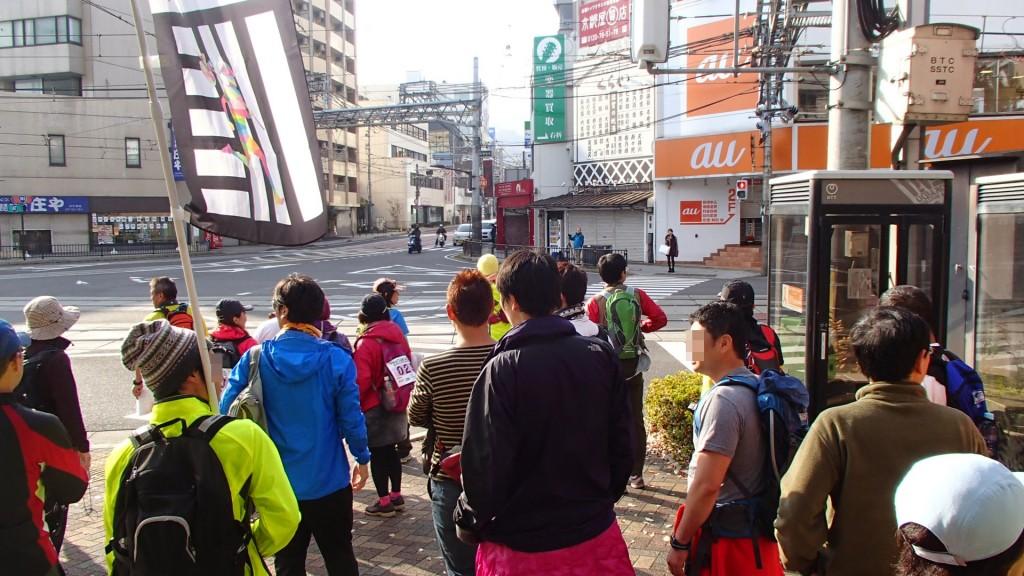 午前9時大津港を出発です