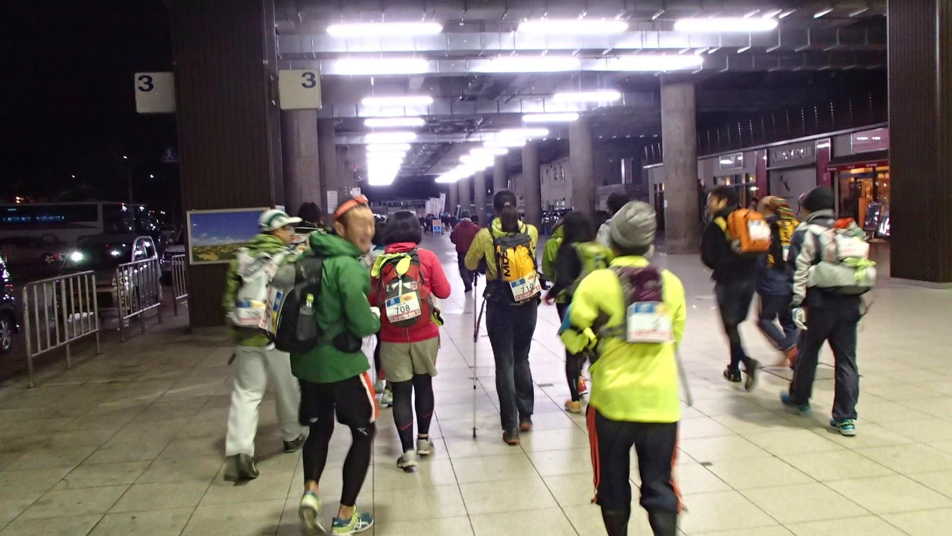 新大阪駅をスタート