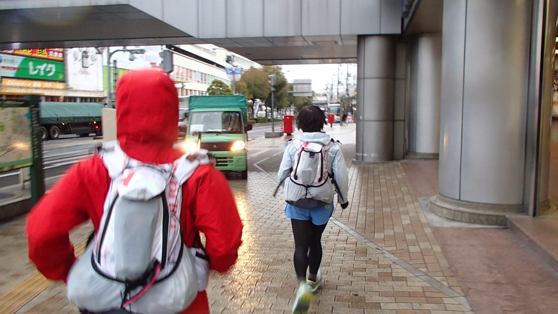 三宮駅の外