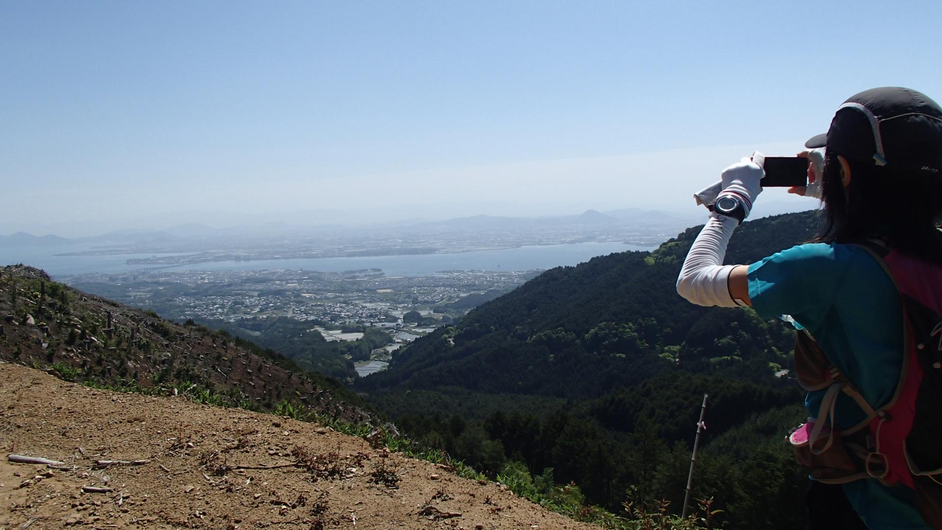 仰木峠からの絶景