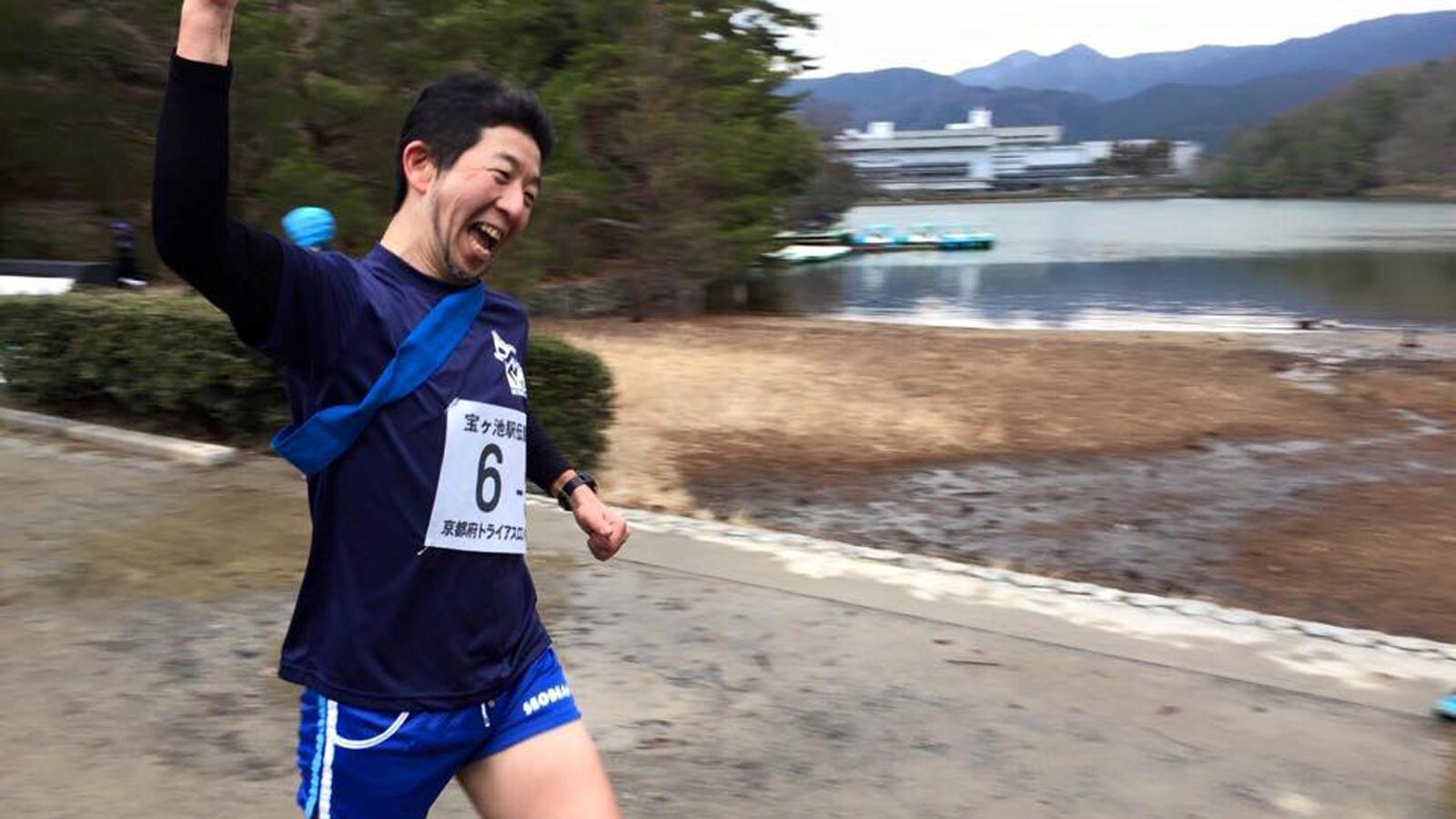 比叡山トレイルラン完走率でましたね