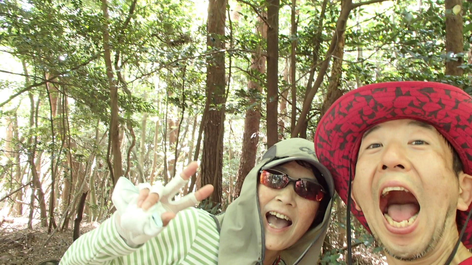 愛知県の山の中で