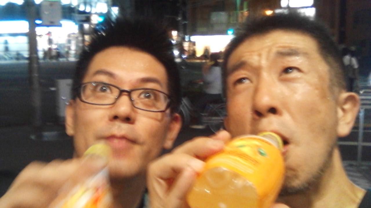 金曜日の夜は友達と京都の街をぶらっと10Km