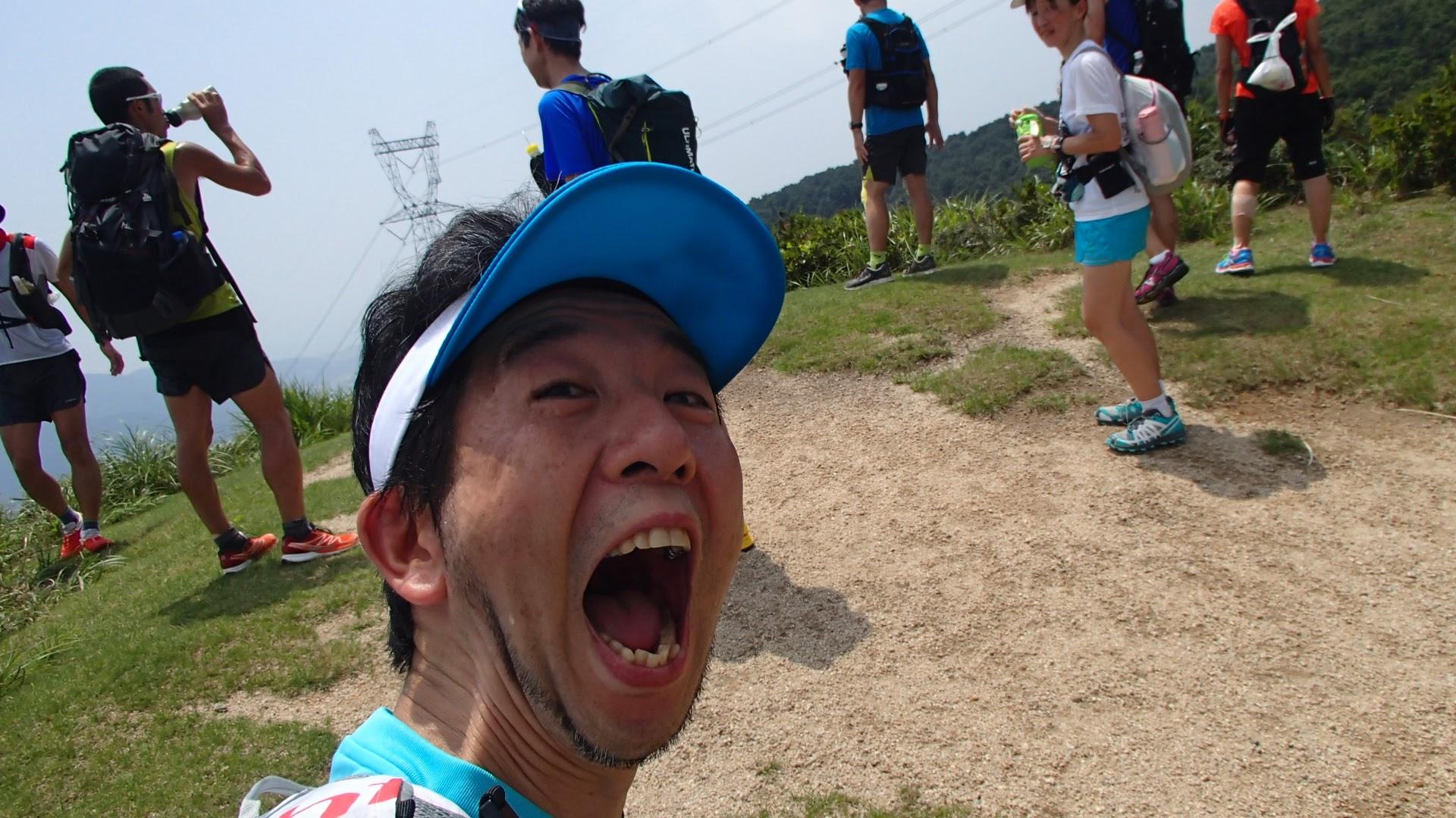 赤坂山の手前