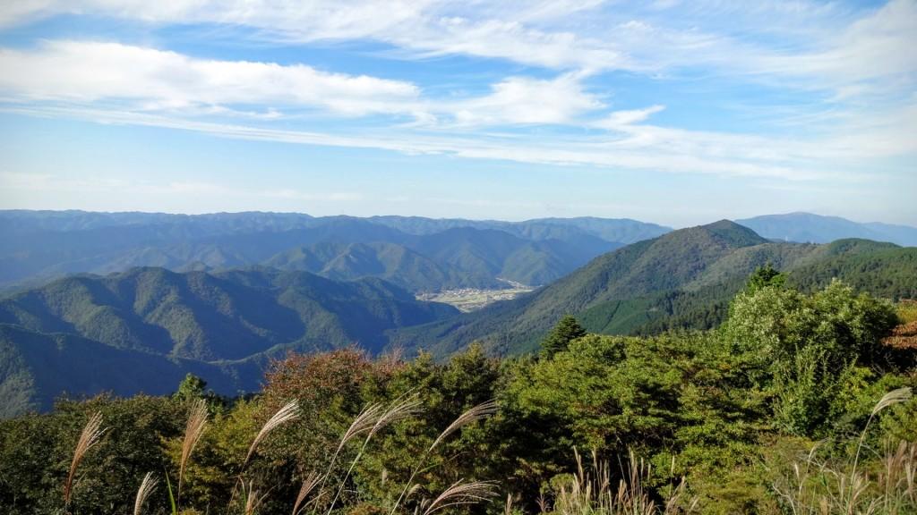 比叡山 つつじヶ丘から大原方面