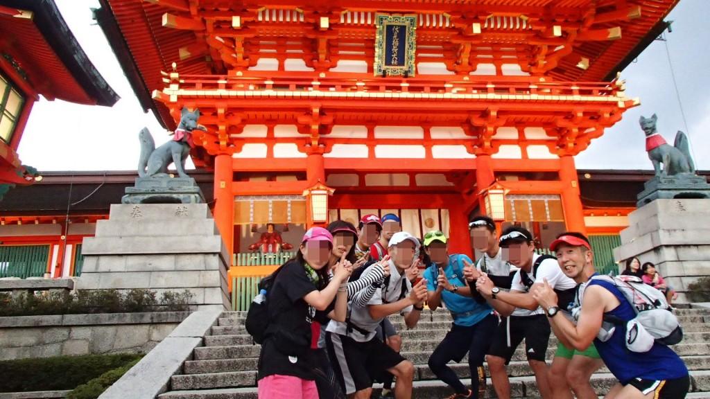伏見稲荷神社ゴール