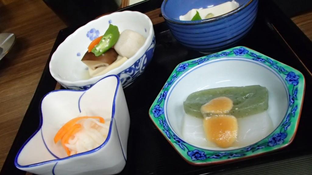 ドライブイン長谷川の料理