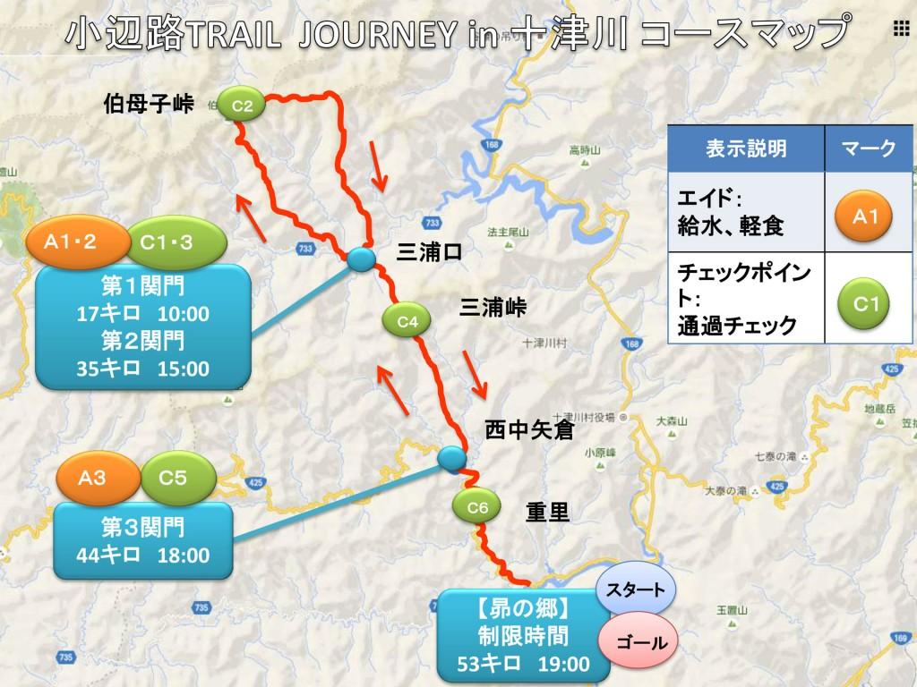 小辺路トレランマップ