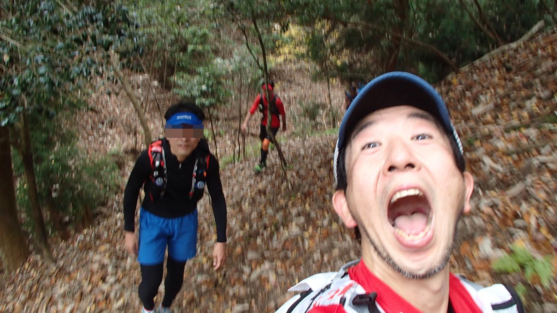 比叡山から大文字へ向かう途中