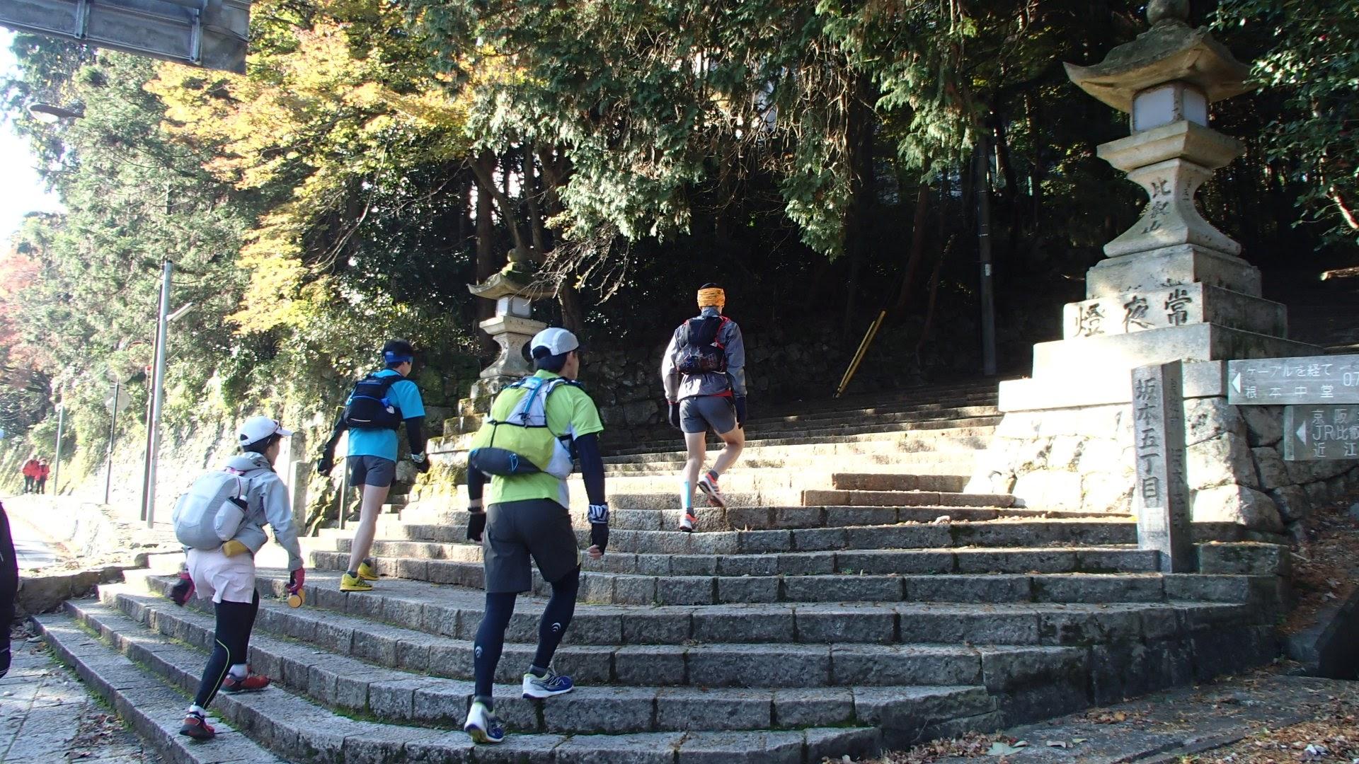 坂本から比叡山の登山口