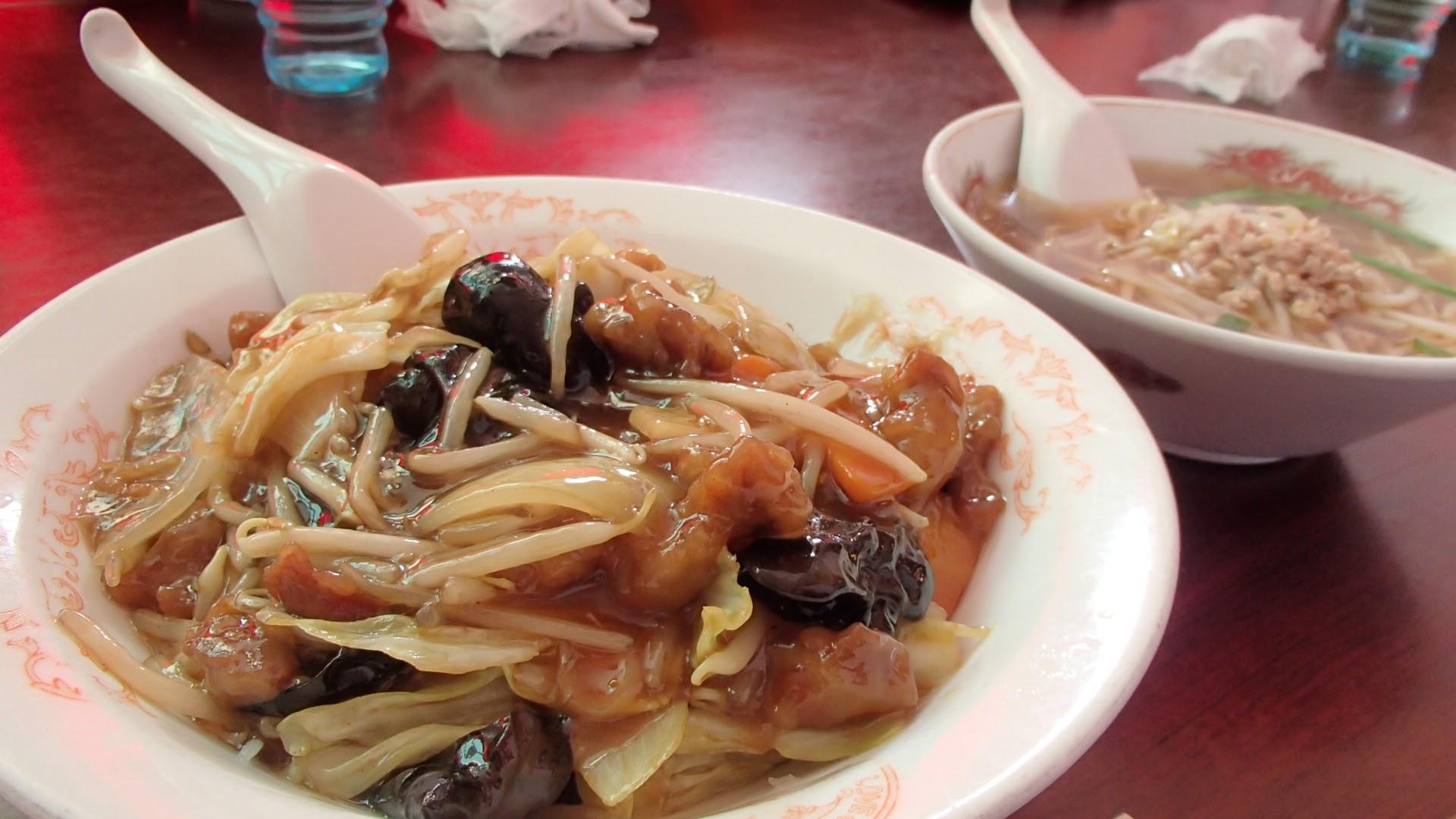 帰りの中華料理店