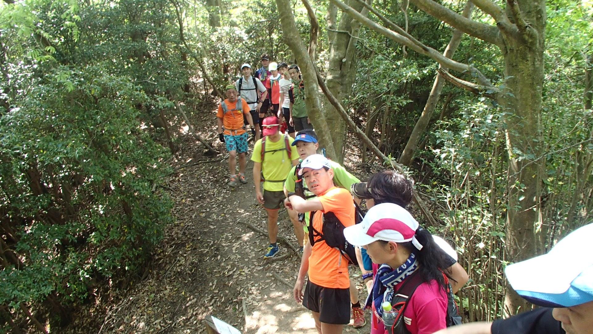 京都トレイル瓜生山