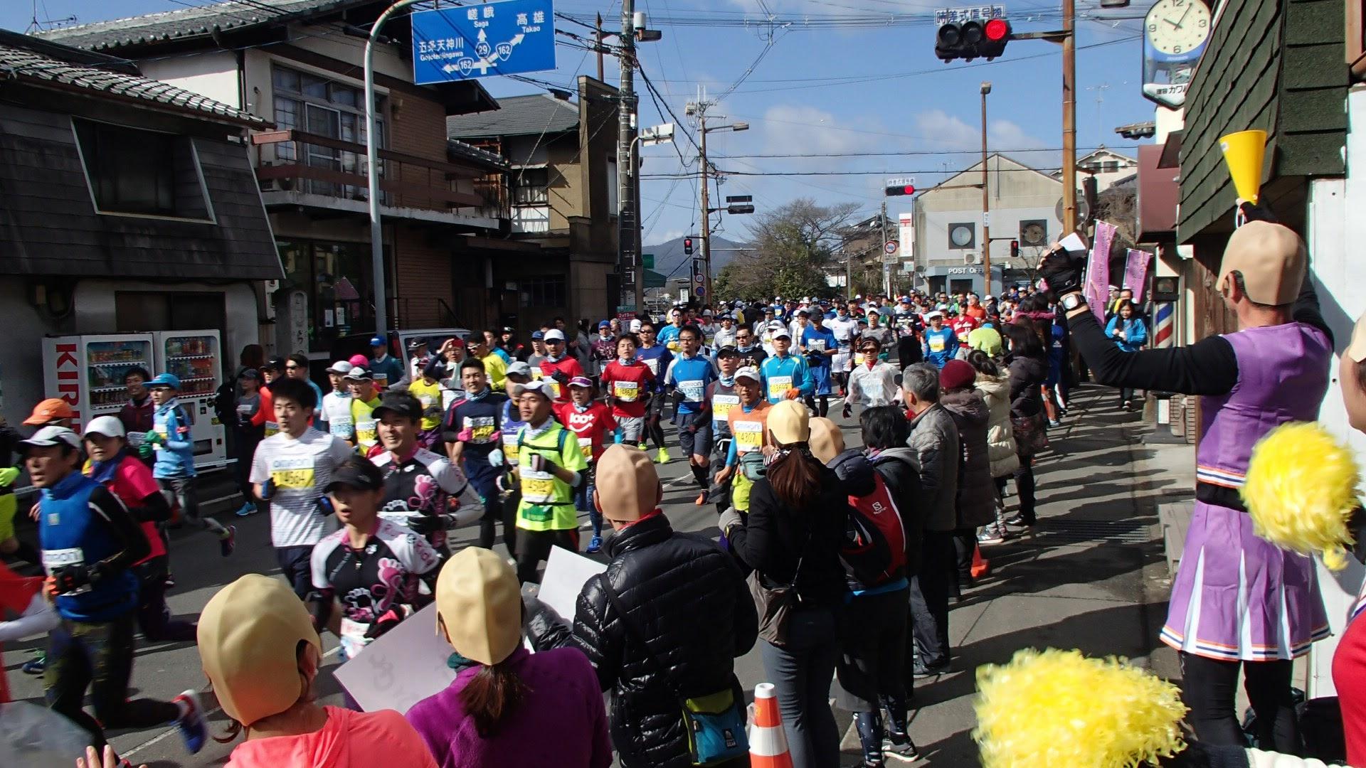 京都マラソン応援