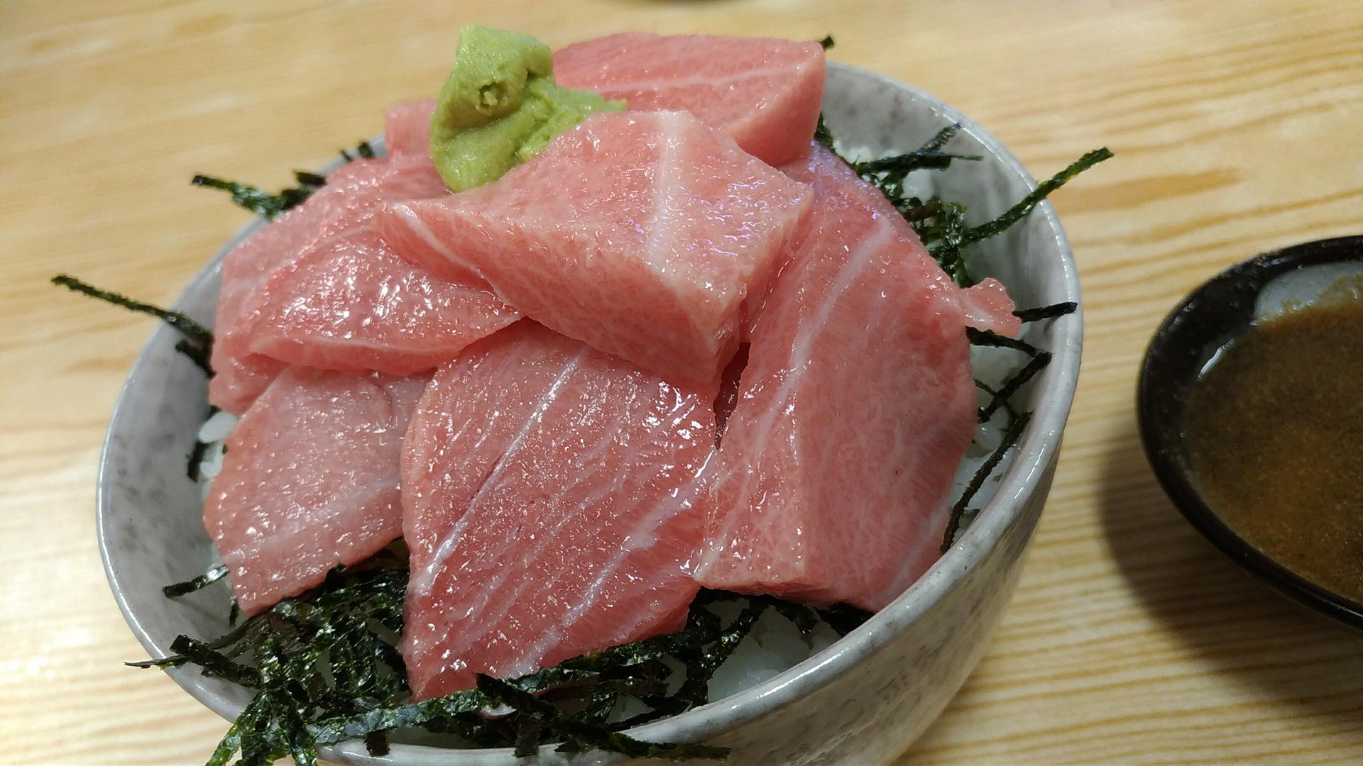那智勝浦ヤマキ大トロ丼
