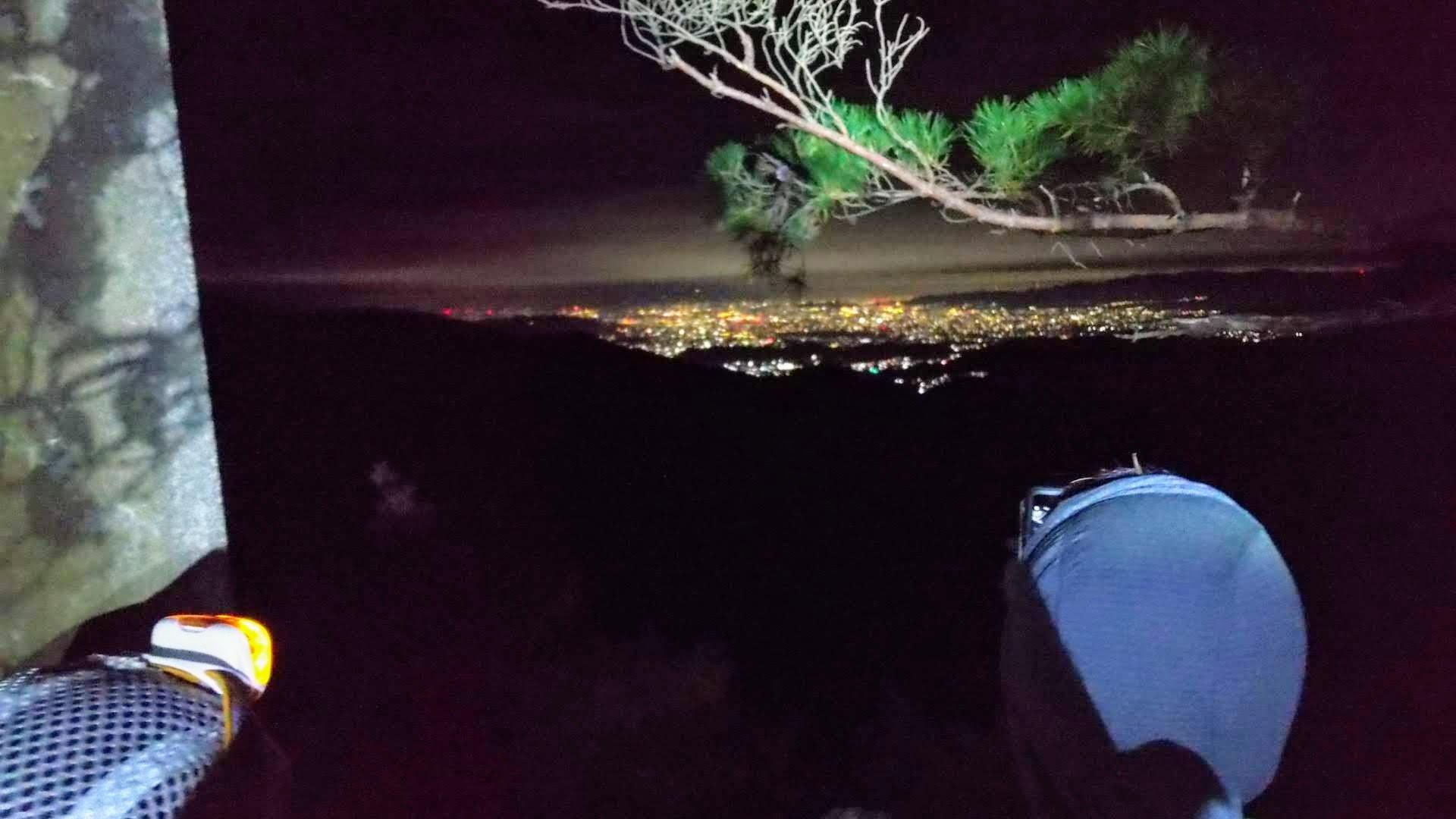 金毘羅山からの夜景